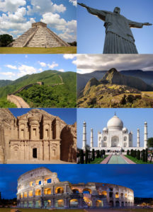 The seven wonders of the world - Muddy Chef Style