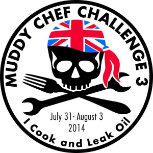 muddy chef challenge sticker