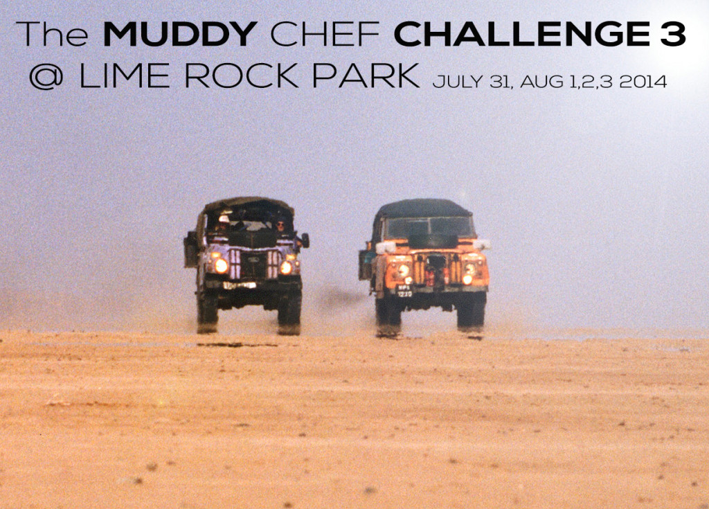 MUDDY CHEF LAND ROVER