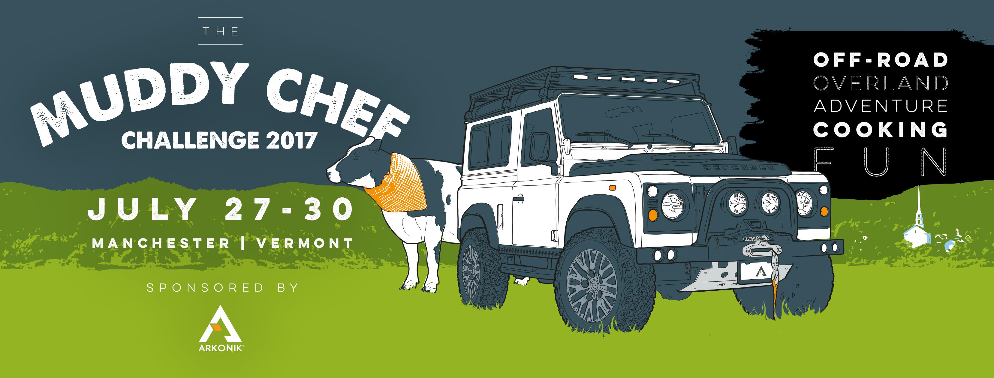 Arkonik Land Rover Muddy Chef Challenge