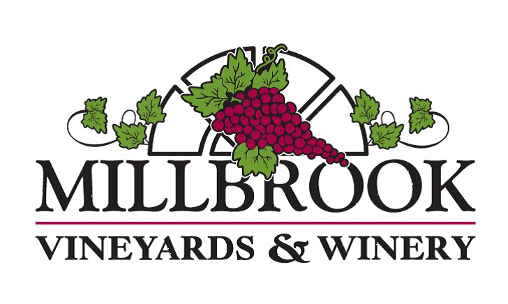 Millbrook grapes logo