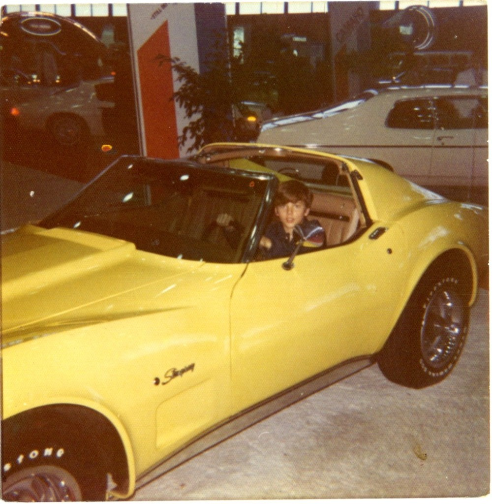 Walter in Corvette - Bigger